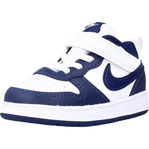 Nike Court Borough Low 2 Chaussures DE Sport pour Garcon Blanc BQ5453107