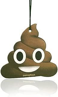EmojiFresh Poop Emoji Car Air Freshener (3 Pack) - Ocean Scent