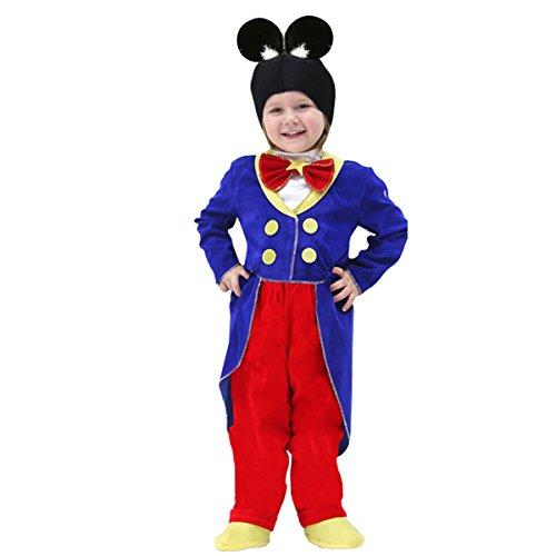 Pegasus Vestito Costume Maschera di Carnevale Baby - Topolino - Taglia 4/5 Anni - 83 cm