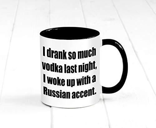 Sp567encer Ich Habe laatste nacht zo veel wodka gedronken, dat ik met een Russisch accent wakker Bin