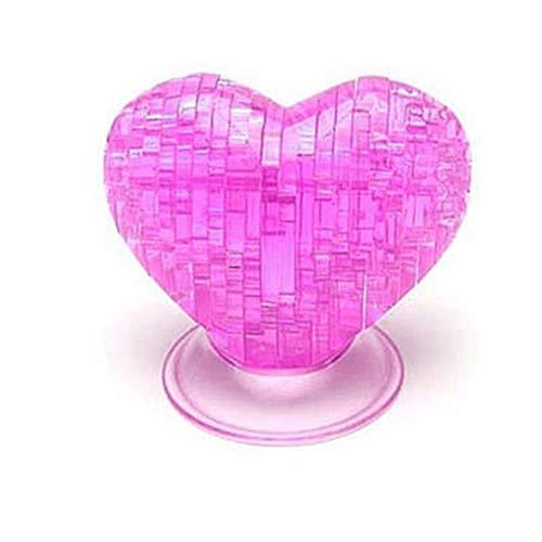 WFZ17 3D-Puzzle-Spielzeug, Möbel-Herzform, DIY Puzzle IQ Gadget Entwicklung Spielzeug