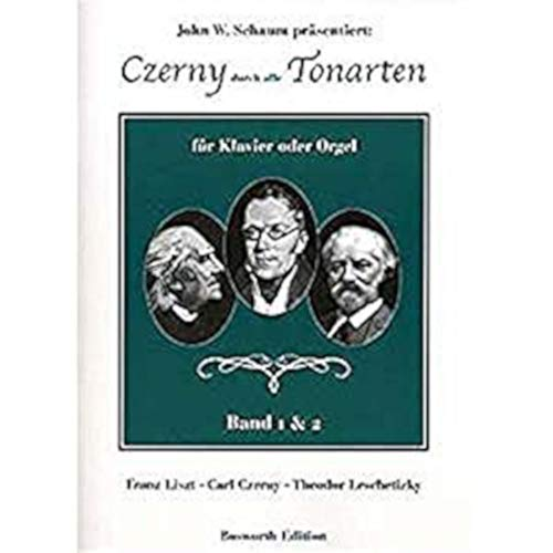 Carl Czerny: door alle soorten geluiden – band 1 en 2. Voor piano, orgel, begeleiding