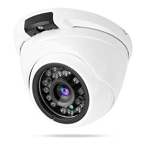 Yuyanshop Cámara al aire libre, 1080P Dome Monitor IP Cámara impermeable Monitor Red con vista nocturna Control remoto