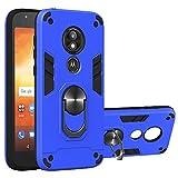 NR Coque Motorola Moto E5 Play, Housse PC Dur+Soft TPU Silicone Dual Layer Antichoc Etui Rotatif...