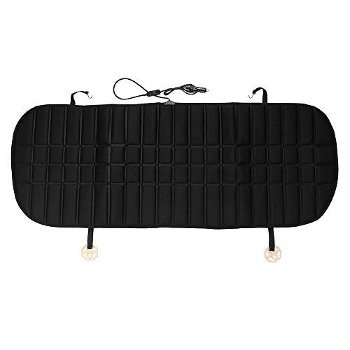 Kinberry - Cojín de calefacción (12 V, suave, acogedor, para la mayoría de los asientos traseros del coche.