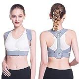 Correzione della postura, anti-kyphosis, correzione invisibile di postura, supporto posteriore traspirante e regolabile, può ridurre il dolore alla schiena, al collo e alla spalla