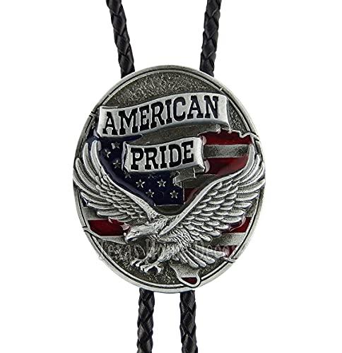 American Pride Eagle Bolo Tie