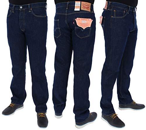 Levi's 501 Original Fit Jeans Pantalón Vaquero con diseño clásico y cómodos de Usar para Hombre