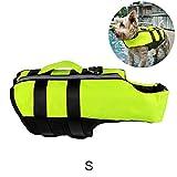 GMWD Chaleco Salvavidas para Perros Chaleco Salvavidas para Mascotas Chaqueta de Natación con Cinturón Ajustable Chaleco Flotante Inflable Reflectante para Perros Pequeños Medianos Y