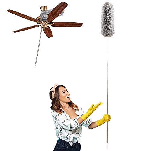 Our #7 Pick is the HAINANSTRY Extendable Duster for Blinds and Ceiling Fans