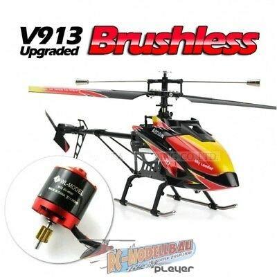 s-idee® V913 Brushless 4 Kanal Heli WL Hubschrauber RC Ferngesteuerter Hubschrauber/Helikopter