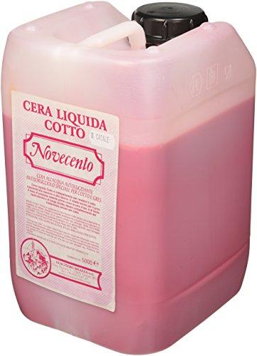 Cera Novecento K923 - Cera líquida cocida, color rojo, 5 litros