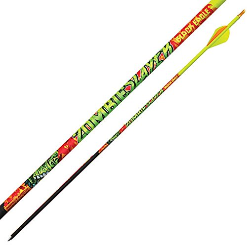 Black Eagle Zombie Slayer Crested Arrows - .003' 6 Pack - 300