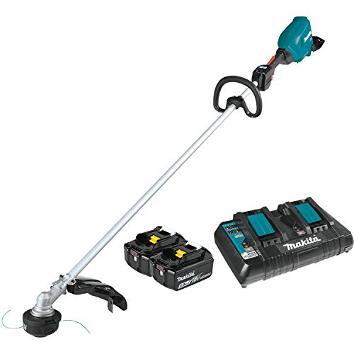 Buy Discount Makita XRU18PT (36V) LXT Lithium-Ion Brushless Cordless (5.0Ah) 18V X2 String Trimmer K...