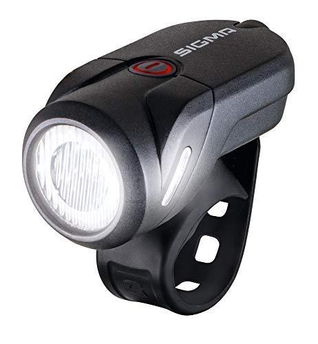 Sigma Led-akku-frontleuchte-2022072410 LED-Akku-Frontleuchte, Schwarz, Einheitsgröße