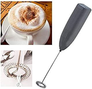 SHOPPOSTREET Electric Handheld Milk Wand Mixer Frother for Latte Coffee Hot Milk, Milk Frother For Coffee, Egg Beater, Han...