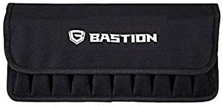 BASTION Large 10 Magazine Pouch with Cover, Sized for Glock and Other Magazines (Holds 10 Magazines)