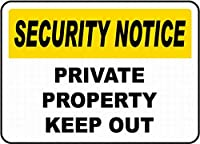 通知私有財産立ち入り禁止ティンサイン壁鉄の絵レトロプラークヴィンテージ金属板装飾ポスターおかしいポスター吊り工芸品バーガレージカフェホーム