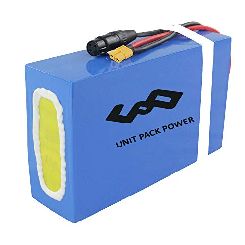 UNIT PACK POWER UPP Electric Bike Battery - 48V Ebike Battery for 1800W/1500W/1200W/ 1000W Bicycle DIY - Lithium ion Battery for E-Scooter(48V 20Ah)