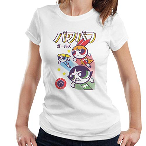 Cloud City 7 The Power Sentai Powerpuff Girls Women's T-Shirt