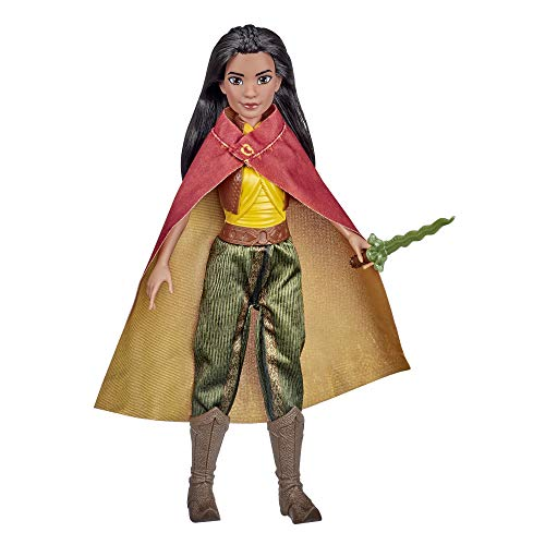 Disney Raya Fashion Doll with Clothes, Shoes, and Sword, Inspired by Disney's Raya and The Last Dragon Movie, Toy for Kids 3 Years and Up