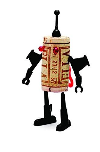 Luckies of London Luke bouteille de vin concepteur Corkers Robot Fun DIY Affaires de singe