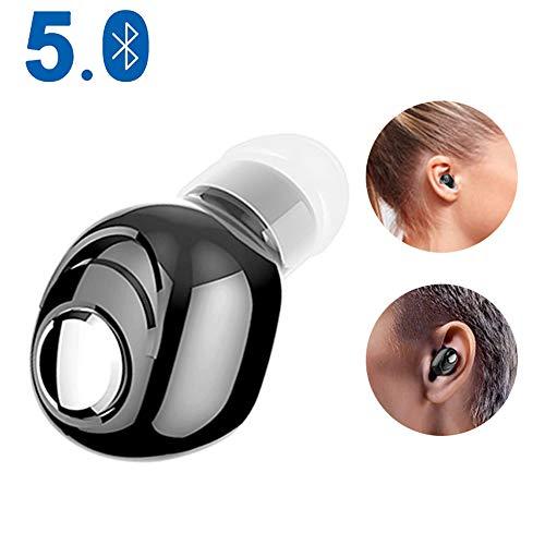Mini draadloze Bluetooth-oortelefoon, V5.0 stereo in-ear headset met microfoon Sport met oordopjes koptelefoon voor Samsung Huawei Xiaomi