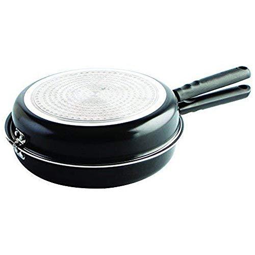 MGE - Omelette-Pfanne für Induktion und Vitro - Aluminium - Ø 24 cm - Schwarz