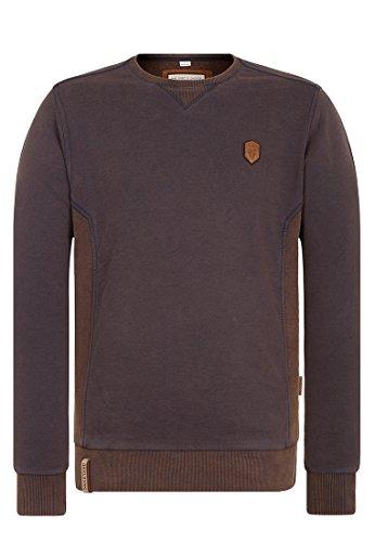 Naketano Herren Sweater Schwanzgesteuert Mit Bravour Sweater