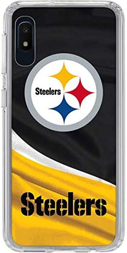 Skinit Clear Phone Case Compatible with Galaxy A10e Officially Licensed NFL Pittsburgh Steelers product image