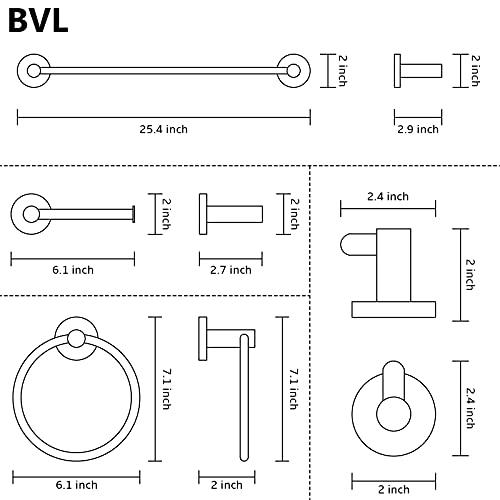 BVL Portarrollos para papel higiénico