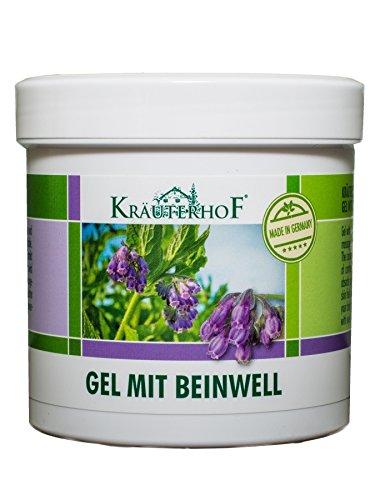 Kräuterhof 10455 Körperpflegegel mit Beinwell 250ml (I2/18)