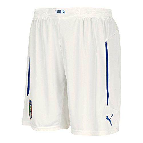 PUMA Herren Hose FIGC Italia Away Shorts Replica Italien, White/home, L