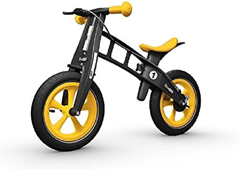 FirstBIKE Limited Edition Balance Bike with Brake Yellow