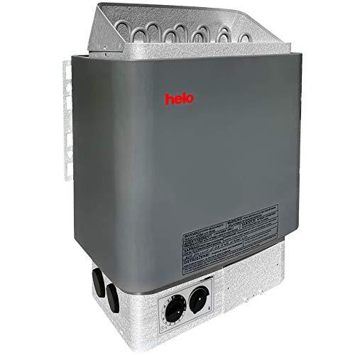 Weigand SAUNAOFEN HELO CUP STJ 9,0 kW I mit im Ofen eingebauter Saunasteuerung I 9 kW