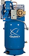 product image for Quincy Compressor QP-10 Pressure Lubricated Reciprocating Air Compressor - 10 HP, 230 Volt, 3 Phase, 120-Gallon Vertical, Model Number 3103DS1VCA23