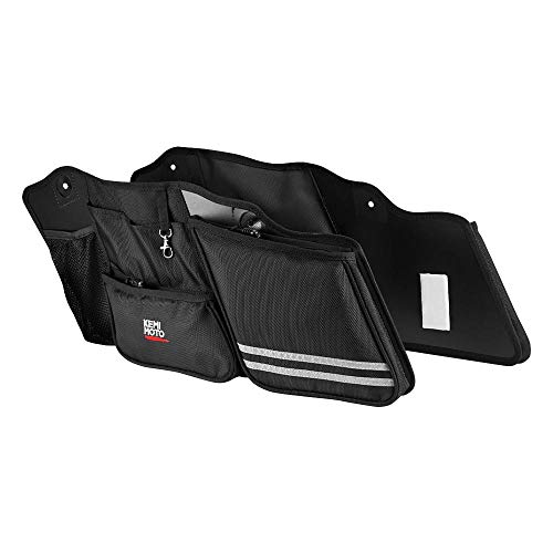 Bestem LGHD-Glide-SDL-R Hard Saddlebag Side Case Liner with Red Piping Pair