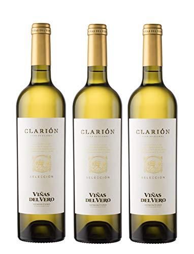 Viñas Del Vero Clarión Selección - Vino D.O. Somontano - 3 Botellas de 750 ml - Total : 2250 ml