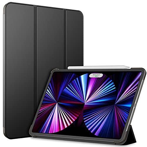 JETech Custodia Compatibile con iPad Pro 11 Pollici, Modelli 2021/2020, Compatibile con Pencil, Cover con Auto Svegliati/Sonno, Nero