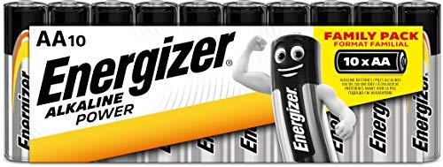 Energizer - Set de pilas alcalinas AA (10 unidades)