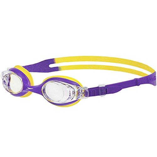 Speedo Sea Squad Skoogle Swimming Goggles- Purple/Yellow - 2-6 YRS