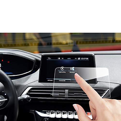 LFOTPP 3008 5008 GT 8 Pulgadas Protector Pantalla Navegación, GPS Radio Cristal Templado Coche Interior Accesorios