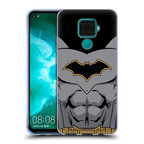 Head Case Designs Oficial Batman DC Comics Disfraz de Renacimiento Logotipos Carcasa de Gel de Silicona Compatible con Huawei Nova 5z