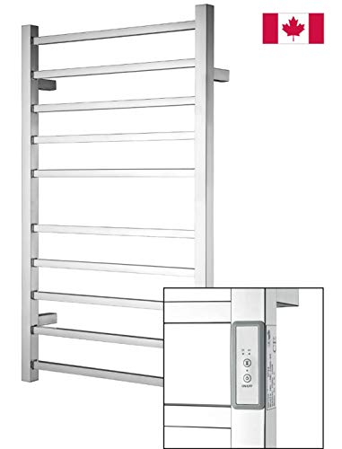 Towel Warmer | Built-in Timer with Led Indicators | 3 Timer...
