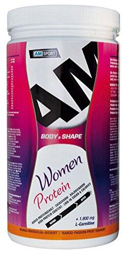 AMSPORT Women Protein, 600 g Dose (Mango-Maracuja-Joghurt)