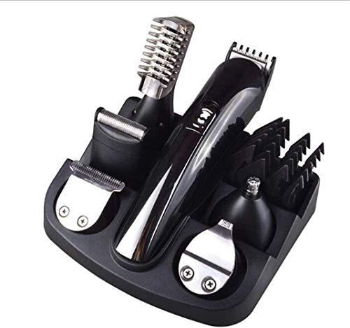 No logo LMCLJJ 6 in 1 Haarschneider for Männer Professionelle Cordless Clippers Haircut Haartrimmer Kit Wiederaufladbare Kopfrasierer for Kinder und Erwachsene Bartschneider Männer Wiederaufladbare
