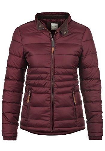 Blend SHE Cora Damen Übergangsjacke Steppjacke leichte Jacke gefüttert mit Stehkragen, Größe:M, Farbe:Zinfandel (73006)