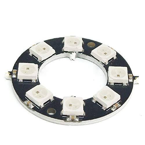 RGB LED-Leuchten Eingebauter Vollfarbentreiber RGB LED Lights Development Board,8-Bit-Runde
