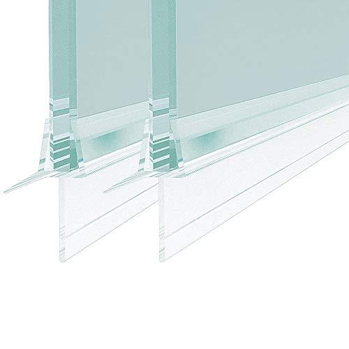 Duschkabinen, Duschdichtung 2x100 cm Ersatzdichtung, wasserdichteAbdeckkapsel, Überlaufsicherung, für 8 mm ,duschandDichtung