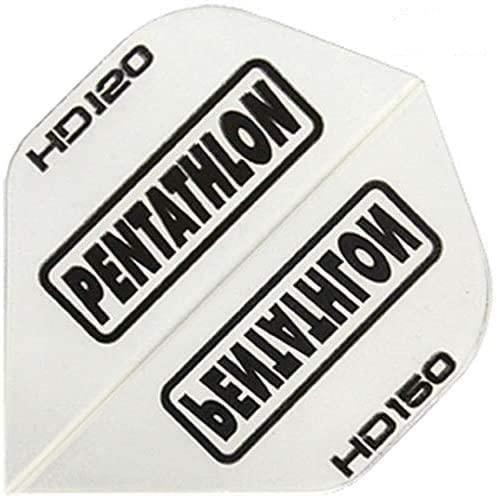 Rocket Set: Pentathlon HD150 Flights, 10 Satz, Transparent + Checkout Karte